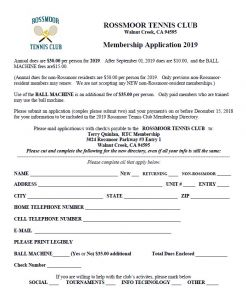 AM 2019 Membership Application
